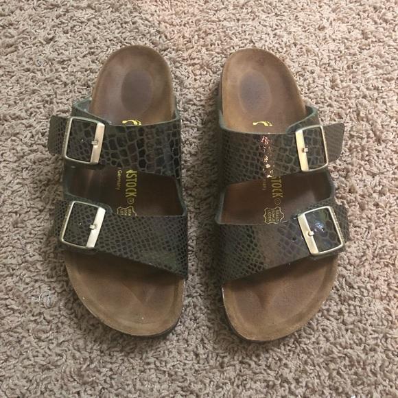895bf14df467 Birkenstock Shoes - birkenstock arizona iridescent snakeskin